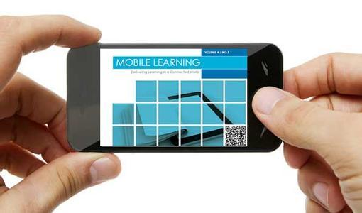 手机移动学习效果展示