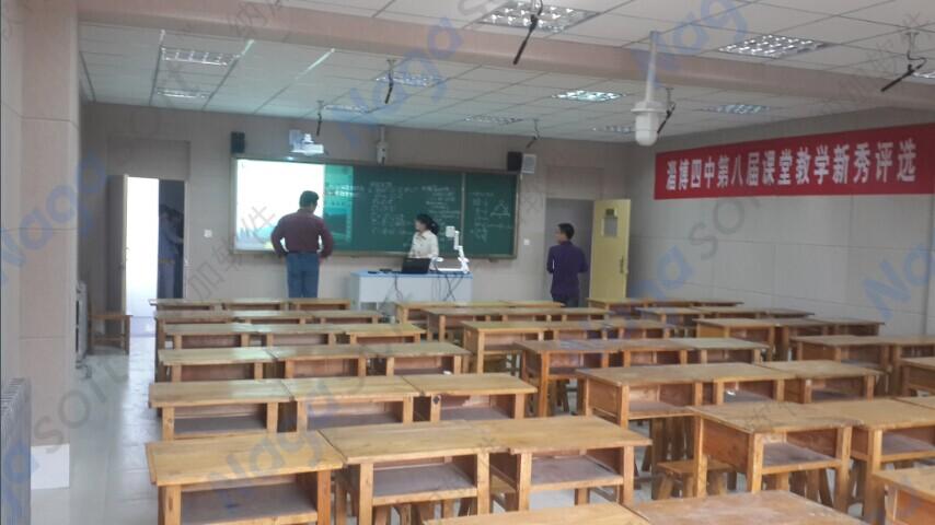 录播教室的使用--远程听课和互动教学