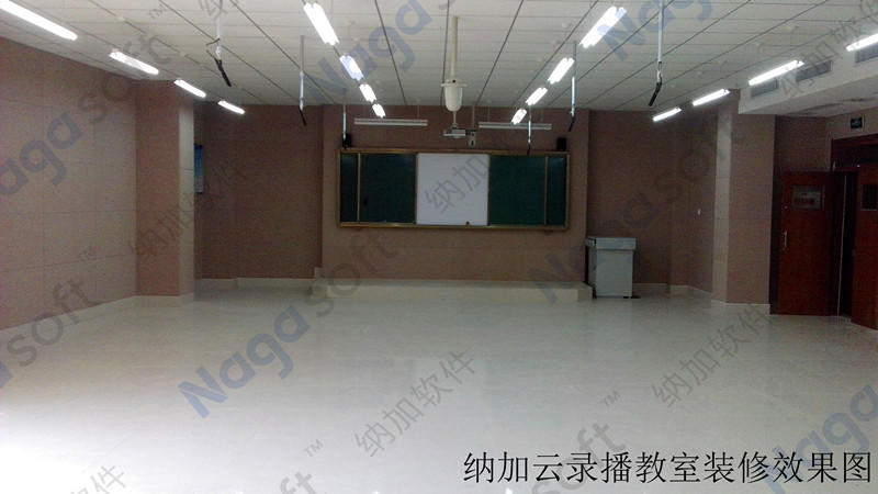 淄博般阳中学云录播教室整体装修效果图