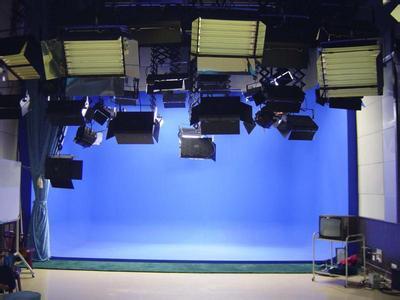 虚拟演播室灯光布置效果图